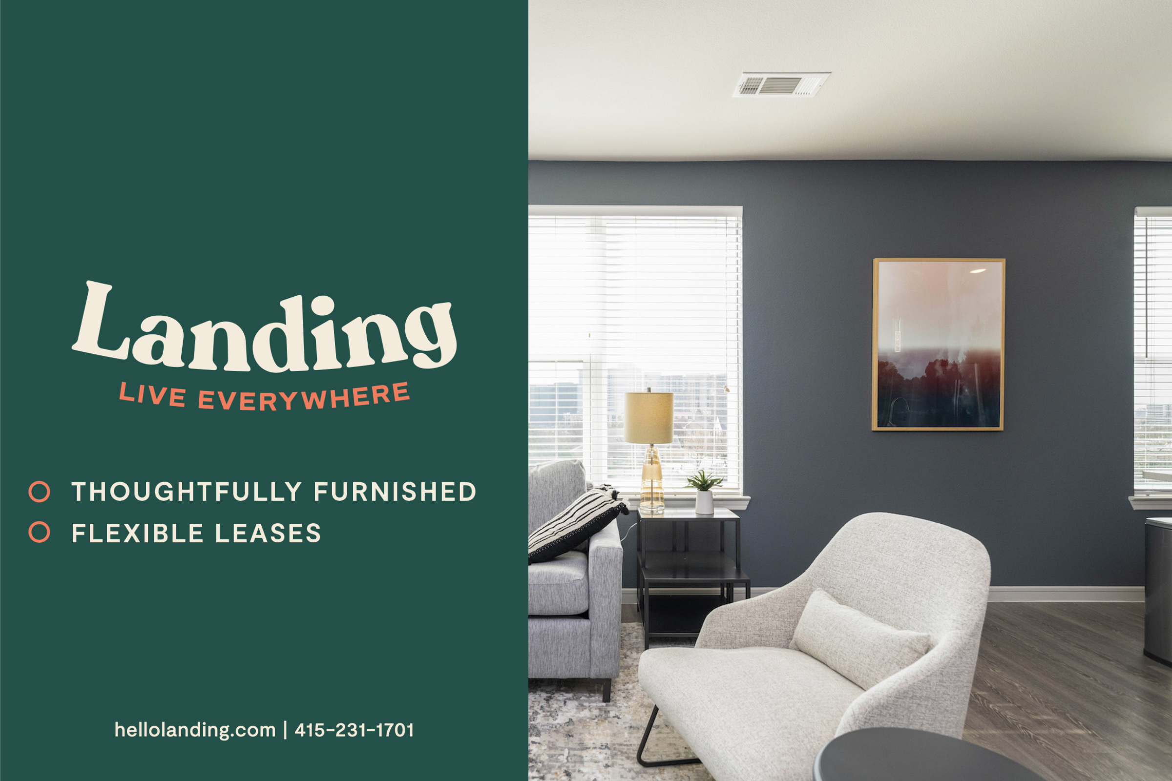 Landing Furnished Apartment The George & The Leonard