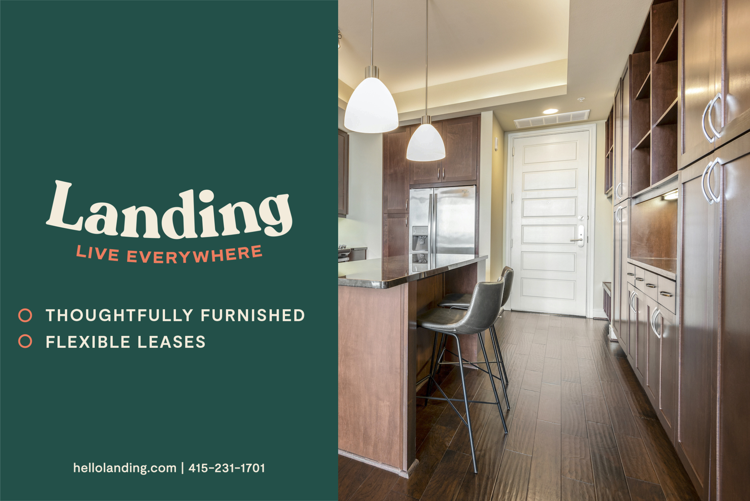 Landing Furnished Apartment Summer House Apartments