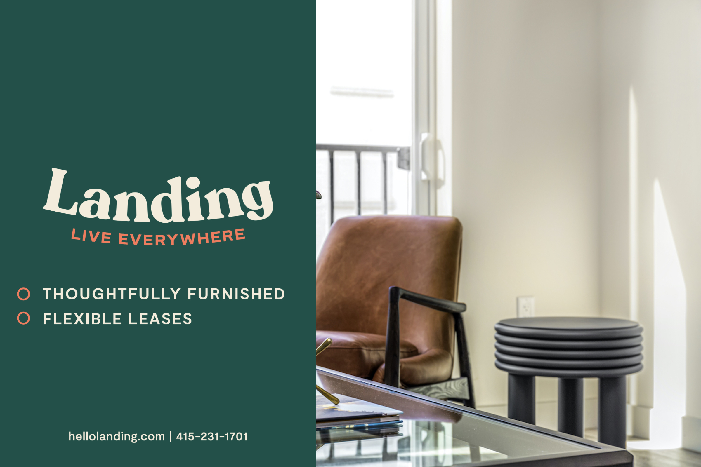 Landing Furnished Apartment TAVA Waters