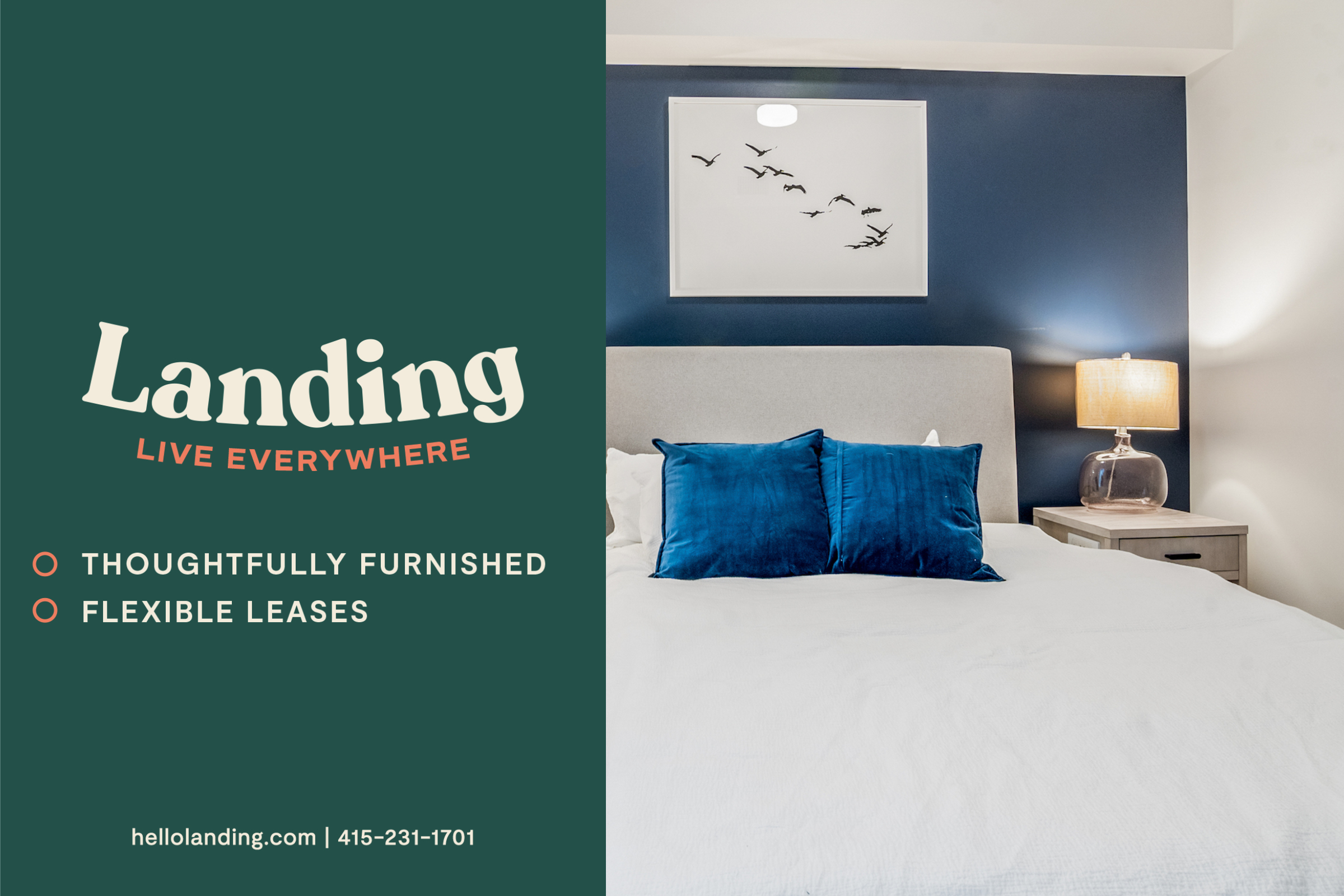 Landing Furnished Apartment Union Berkley