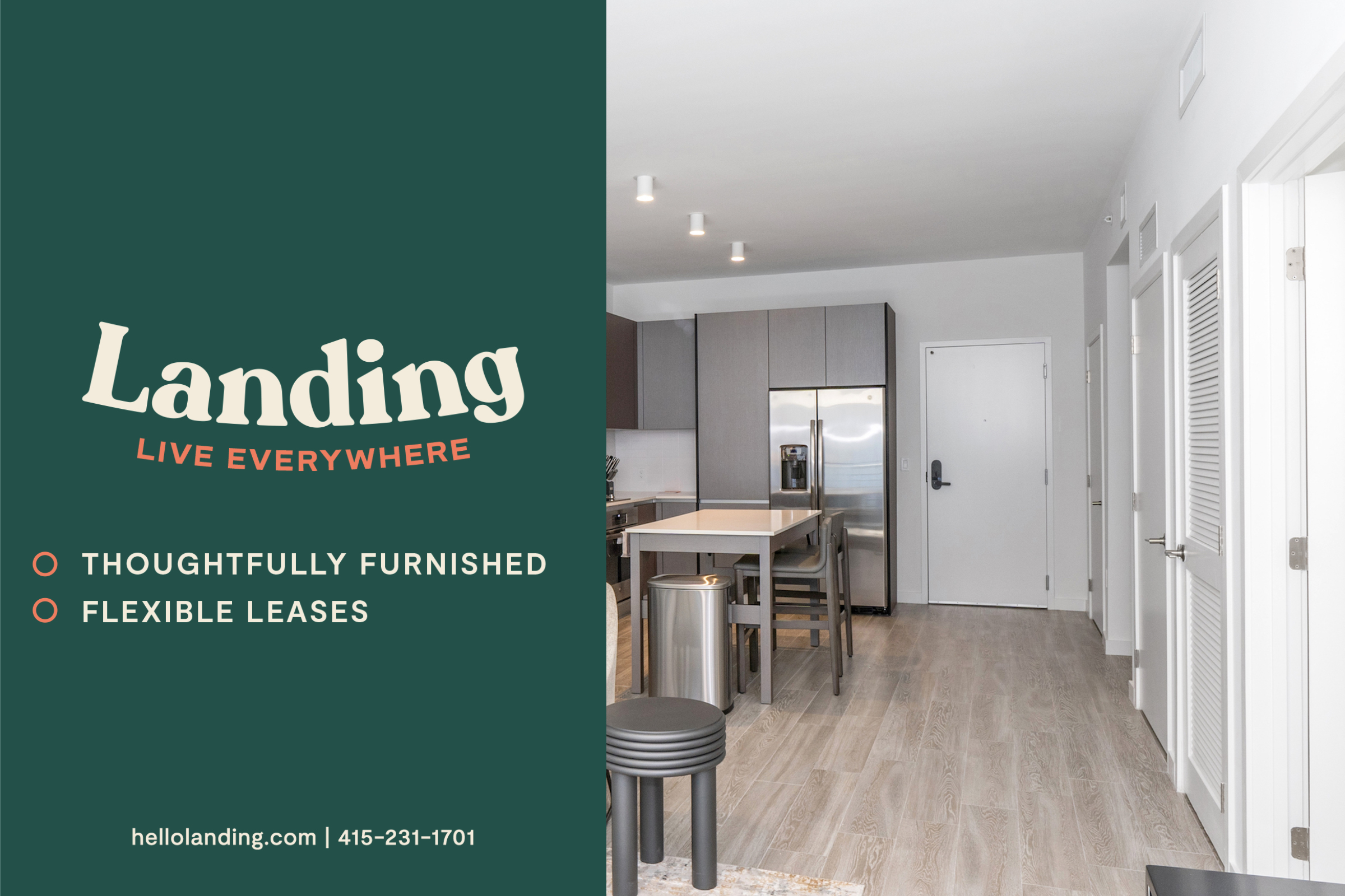 Landing Furnished Apartment The Willows at Town Center