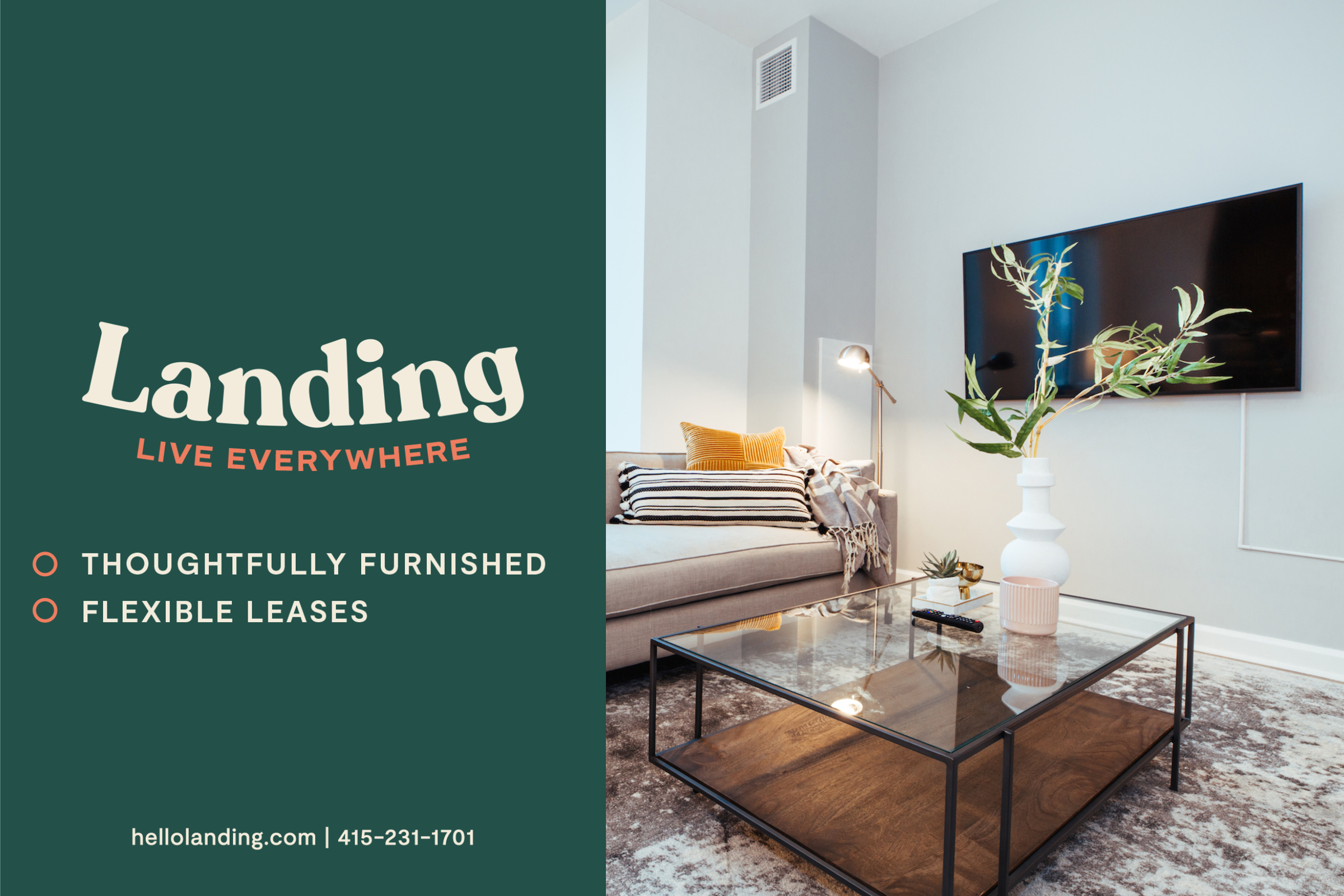 Landing Furnished Apartment Crown Martin Park