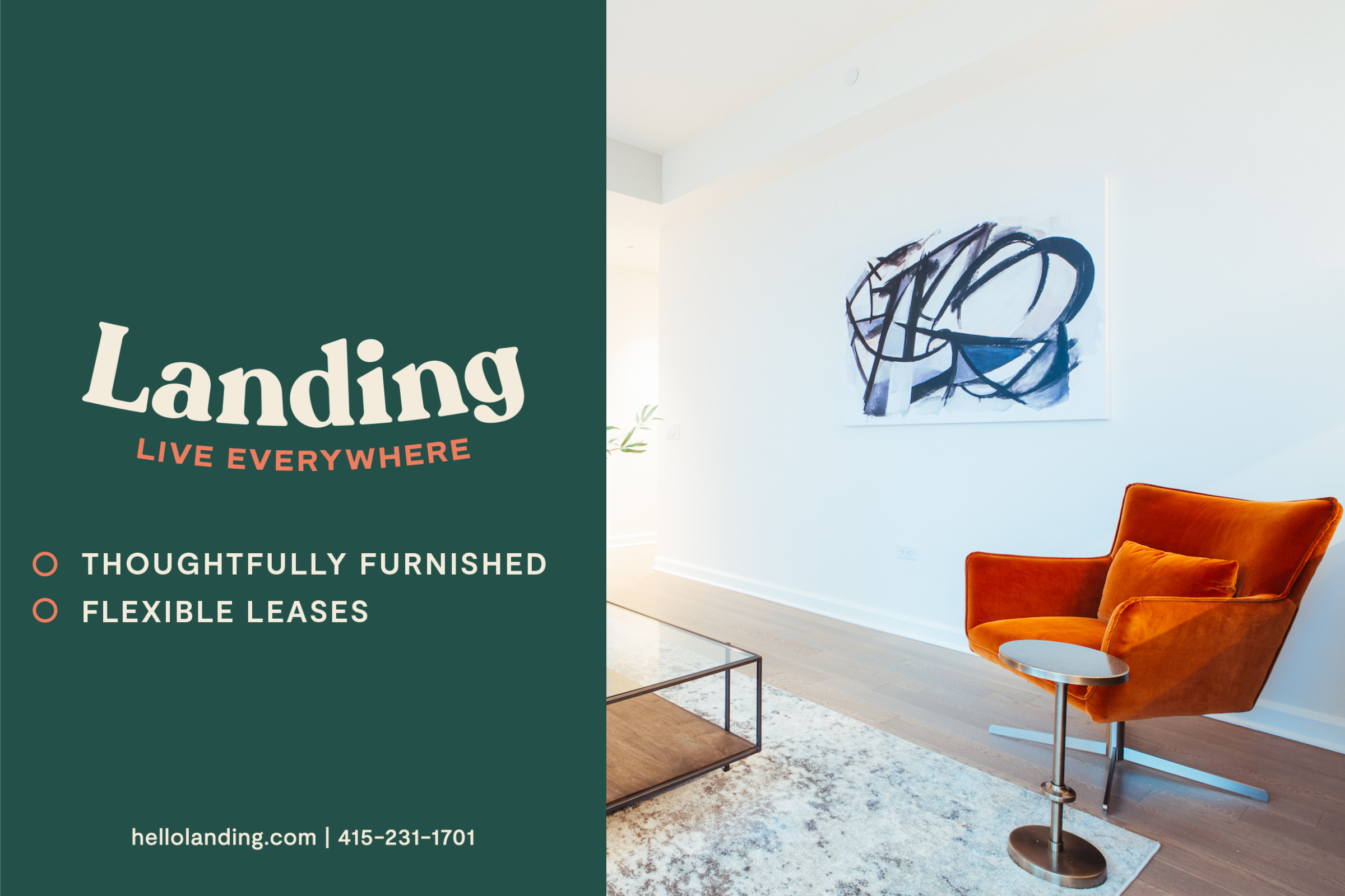 Landing Furnished Apartment Hite