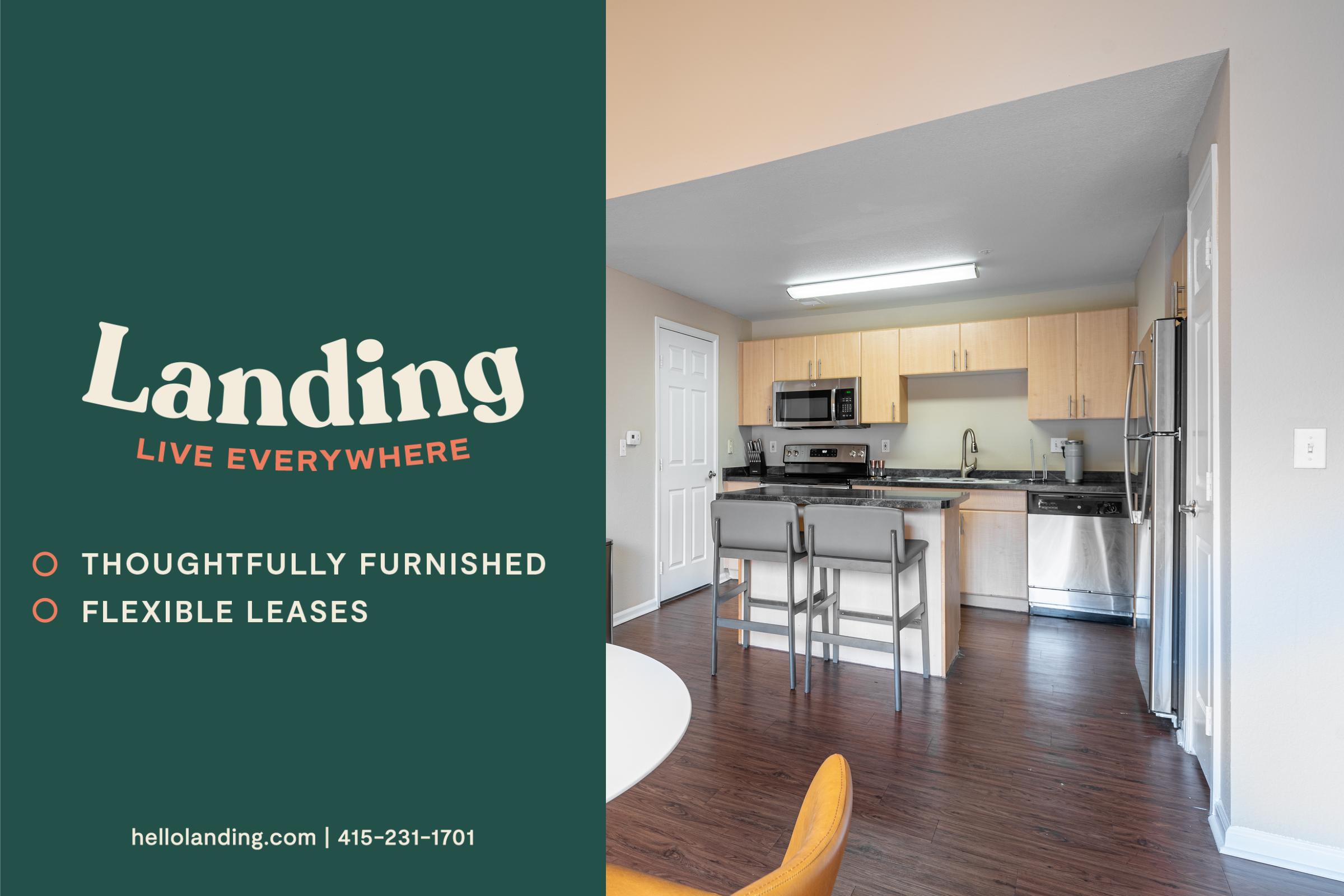 Landing Furnished Apartment Crestone