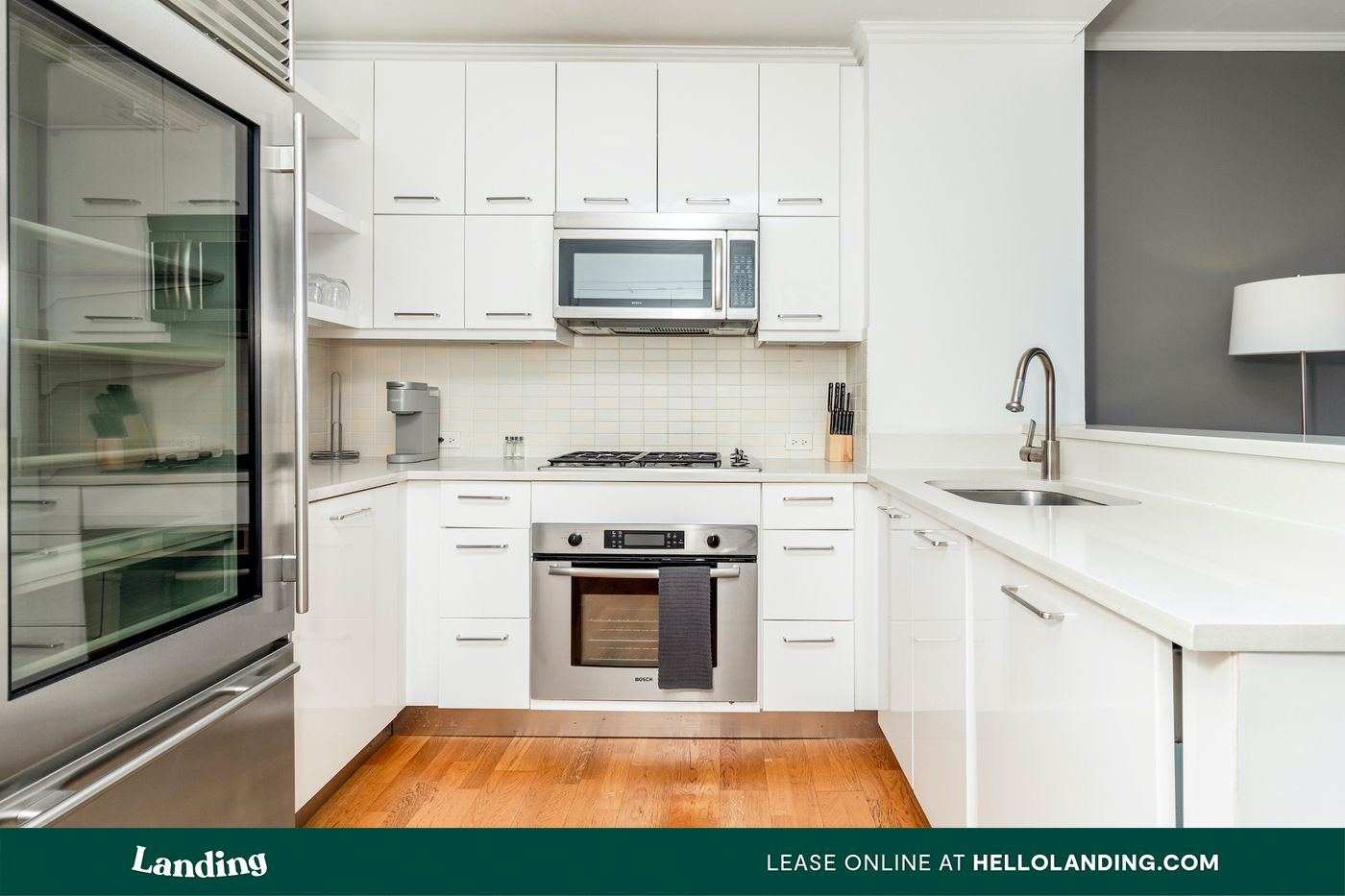 Landing Furnished Apartment Viridian Edge at the Park for rent