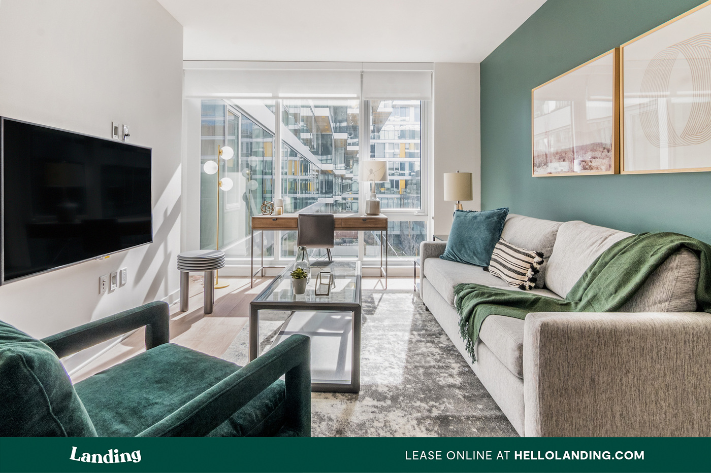 Landing Furnished Apartment Arista Uptown for rent