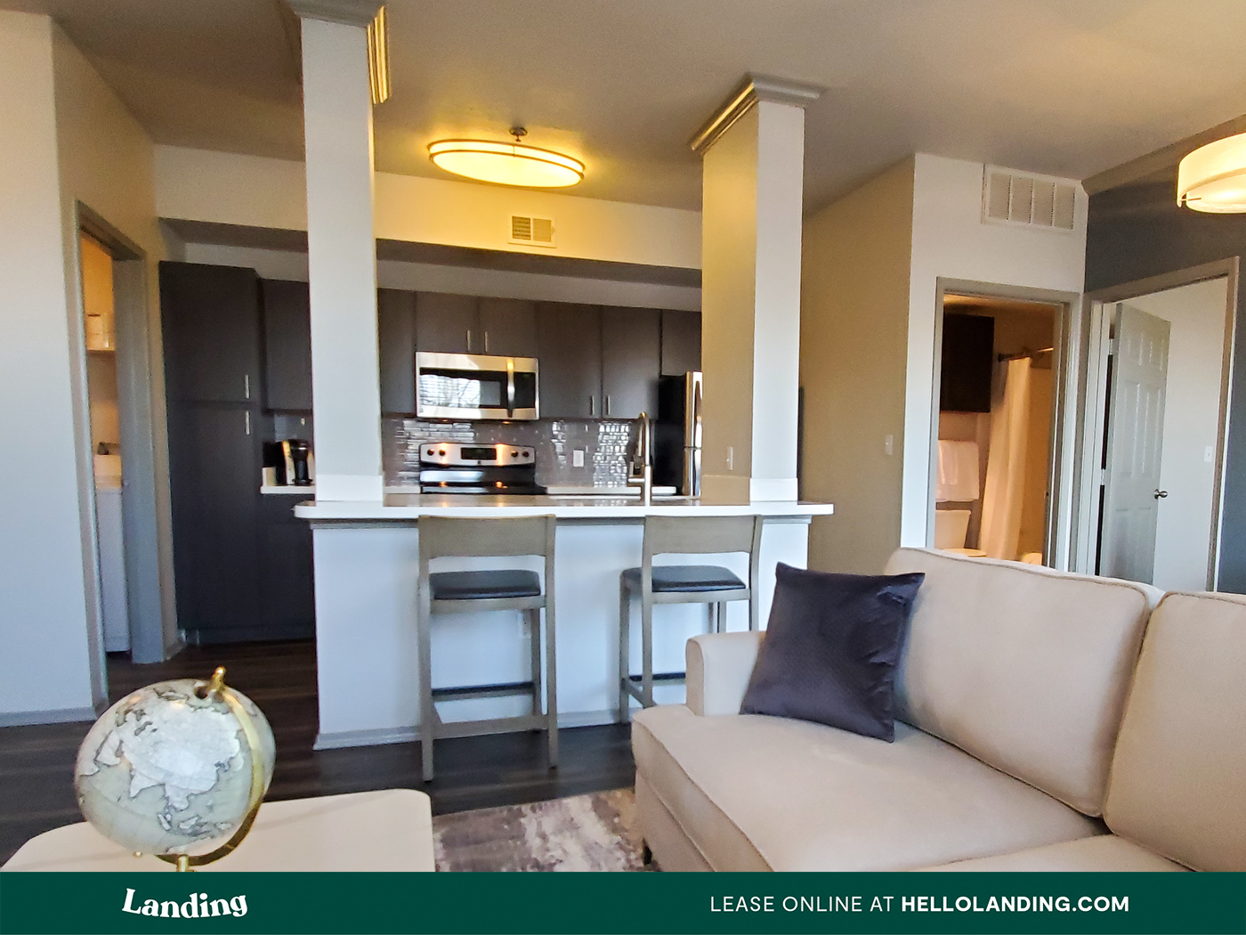 Landing Furnished Apartment Griffis Westminster Center