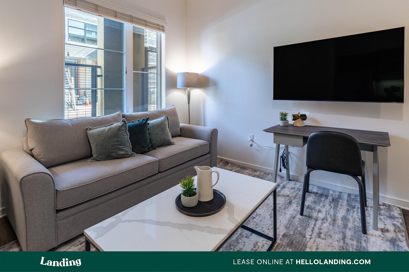 Live at Landing Furnished Apartment Mason at Hive