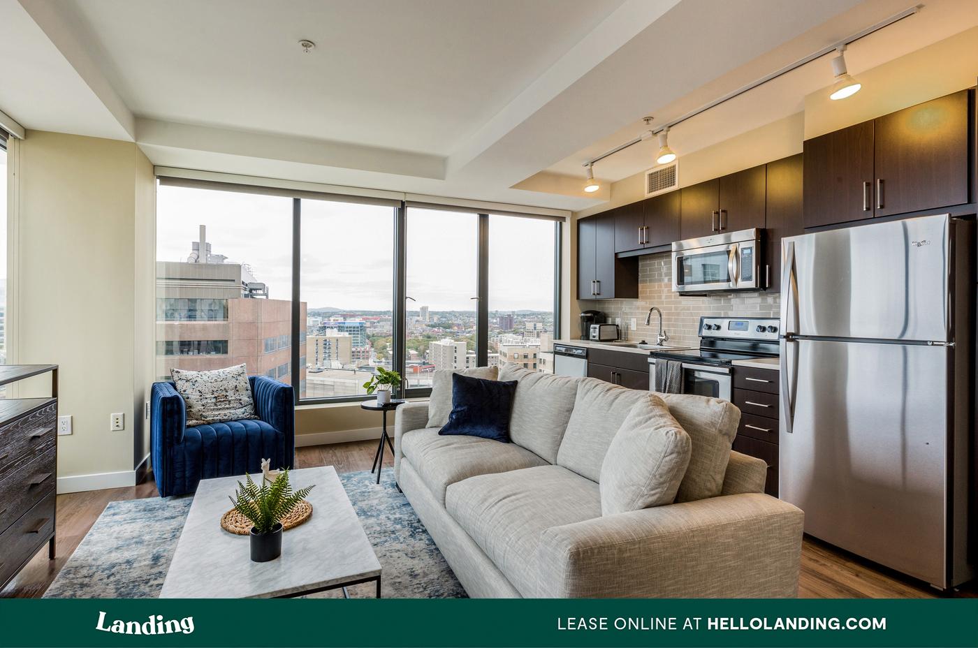 Landing Furnished Apartment Sorano