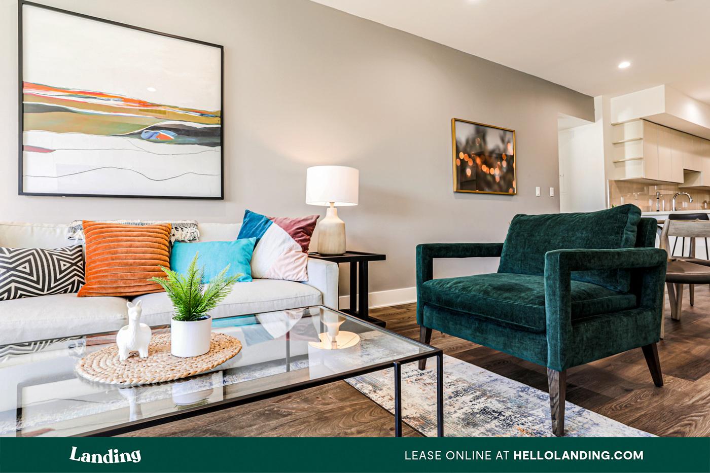 Landing Furnished Apartment Parker Hilltop Apartments